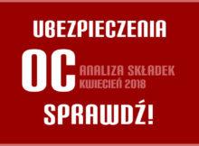 OC analiza składek kwiecień 2018