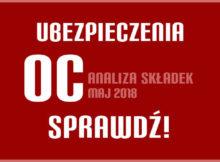 ubezpieczenie oc w Szczecinie w maju 2018