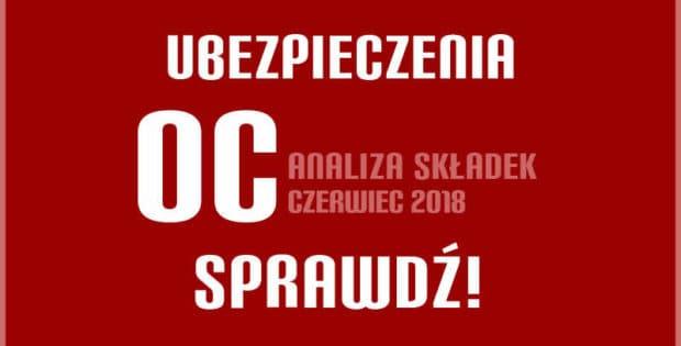 Ubezpieczenie OC w Szczecinie w czerwcu 2018