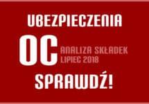 Ubezpieczenie OC w Szczecinie w lipcu 2018