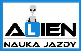 logo alien nauka jazdy